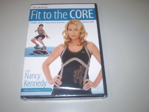 Fit to the Core OSIM uSurf Wave Action Exerciser Workout DVD by Nancy Kennedy