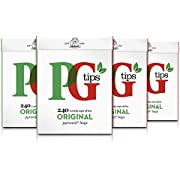 PG Tips Original Pyramid Tea Bags (Pack of 4, Total 960 Tea Bags)