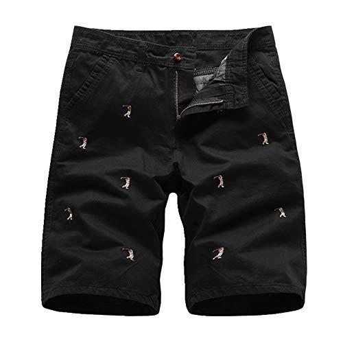 Nuevo Pantalones de playa Casual Pantalones Cortos de Verano de los Hombres