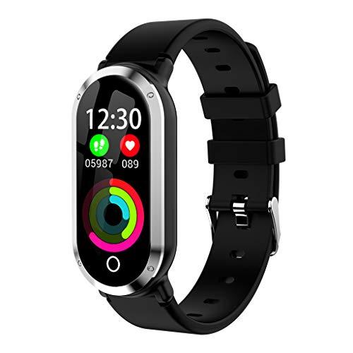 ZSP Smart Watch Sporthorloge, hartslagfrequentie, bloeddrukzuurstofmonitor, lang alarm voor herinnering, stap-armband, waterdicht IP67