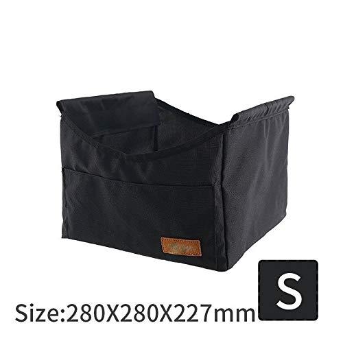 Table Pique-Nique en Plein air Pliable HDS Camping Bureau avec vêtements imperméable Bowl Sac de Rangement for 2/4 (Color : S Pocket)