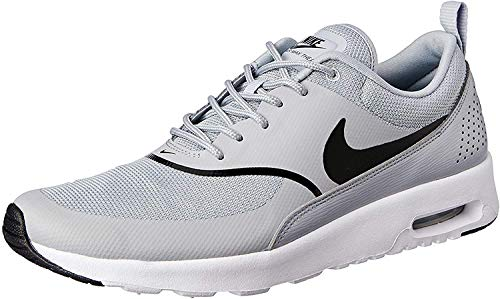 Nike Women's Air Max Thea Gymnastics Shoes, Grey (Wolf Grey/Black 030), 3.5 UK 36.5 EU