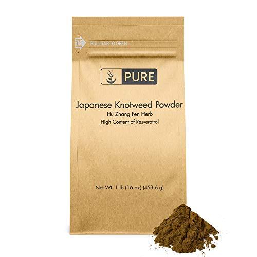 Japanese Knotweed Powder (1 lb) Resveratrol, Chinese/Japanese Herbal Supplement, Hu Zhang Fen