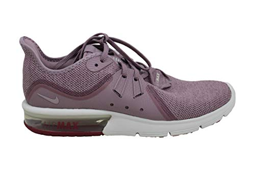 Nike Womens air max Sequent 3 Low Top Lace Up Running Sneaker, Pink, Size 9.5