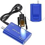 Mike Dental - Faro dentale portatile a LED con clip in plastica da 5 W, con filtro per lenti binoculari+batteria in plastica portatile (blu)