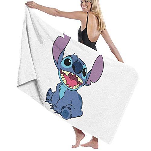 XCNGG Stitch_ (Lilo _ & _ Stitch) Toallas de Playa Microfibra Manta Absorbente súper Suave para Adultos Mujeres Hombres