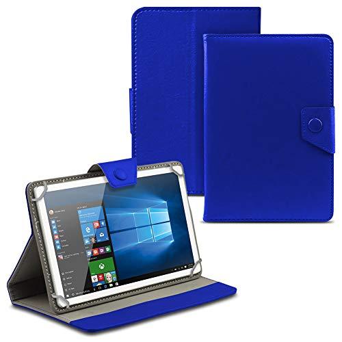 UC-Express Tablet Tasche für Wortmann Terra PAD 1004 Hülle Hülle Cover Schutzhülle Etui Tablethülle, Farbe:Blau