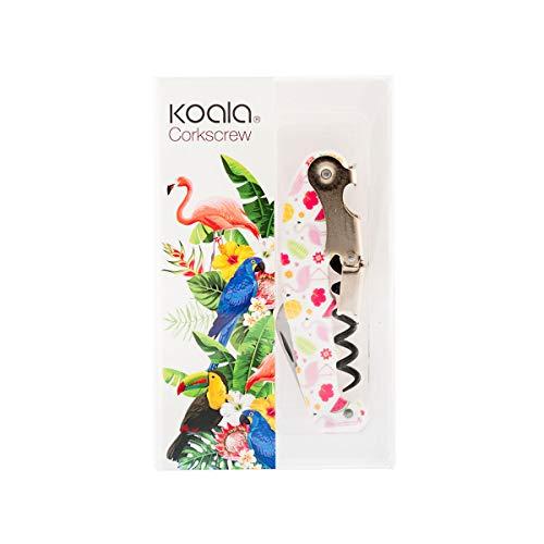Koala 62580006 - Morsetti a forma di fenicottero in acciaio incox