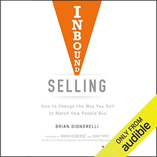 Page de couverture de Inbound Selling