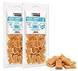 SWISSCOWERS Käse Chips Hunde Leckerlis - 100% natürliche Premium Kausnacks für Hunde aus echter Schweizer Qualitäts-Milch, 1er Pack (1 x 100 g)