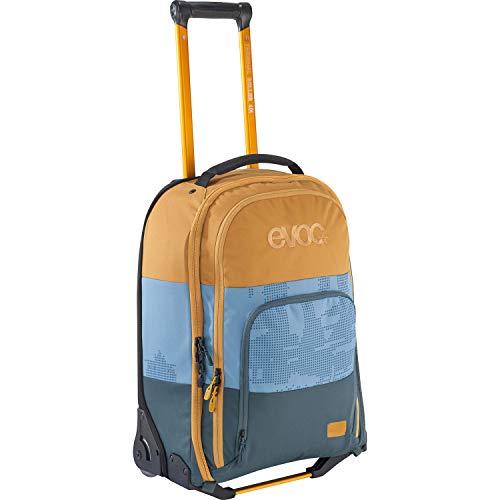 EVOC TERMINAL ROLLER 40l Reisetrolley Reisetasche Trolley fürs Handgepäck (Teleskopgriff, austauschbare Skate-Rollen, extraleicht, stabile EVA-Bodenkonstruktion), Mehrfarbig