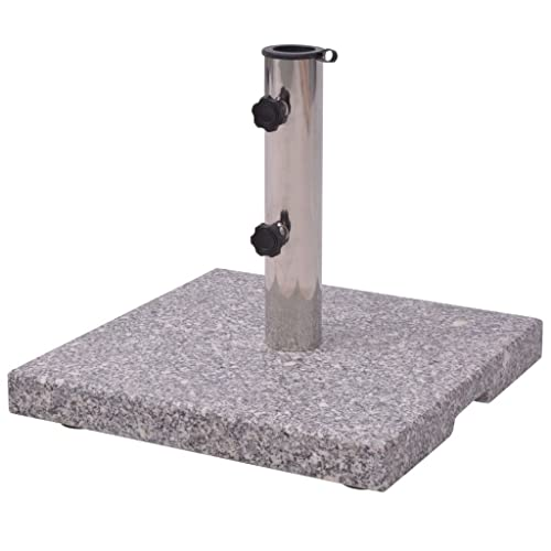 Granite Parasol Base Umbrella Holder 20kg Isidra Yawn