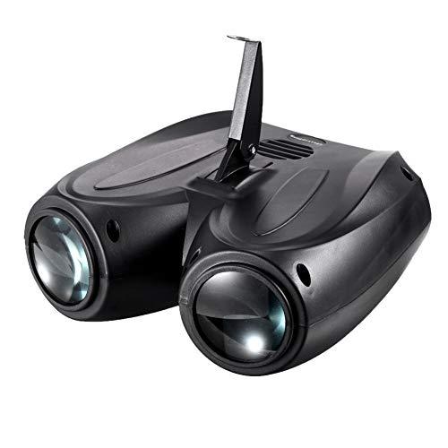 BUBU5 Dirigibile Doppio a LED,Semovente, Controllo vocale DMX512. modalità Master-Slave,Telecomando Luce Atmosfera per Discoteca KTV Bar Club Natale DJ