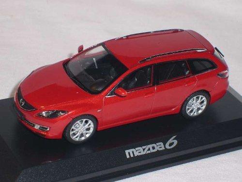 Mazda 6 Rot Sportwagon Kombi 1/43 Norev Modellauto Modell Auto