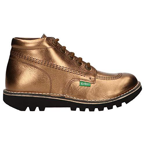 Kickers Boots für Damen 660122-50 NEORALLYE 19 Bronze Schuhgröße 39