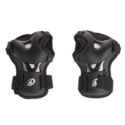 Rollerblade Bladegear XT Wristguard Protective Gear, Unisex, Multi Sport Protection, Black, Medium