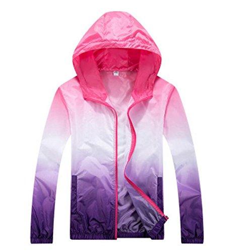 Black Temptation Sun Protective Vêtements Femme vêtements Longs T-Shirts Manches Raincoat Veste