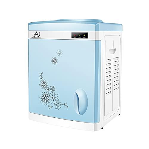 GAYBJ Dispensador de Agua eléctrico Encimera de frío Caliente Refrigeración y calefacción doméstica pequeña Oficina de Escritorio Vertical Empuje la Taza para Tomar Agua