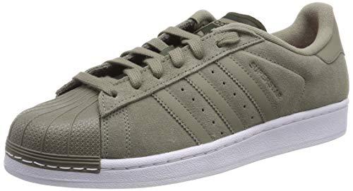 adidas Damen Superstar W Fitnessschuhe, Mehrfarbig, Khaki (Cartra/Carnoc), 36 2/3 EU