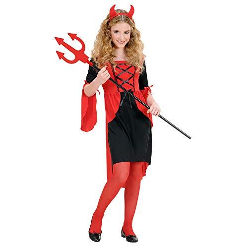 Disfraz de diablesa para niña (8/10años - 140 cm)