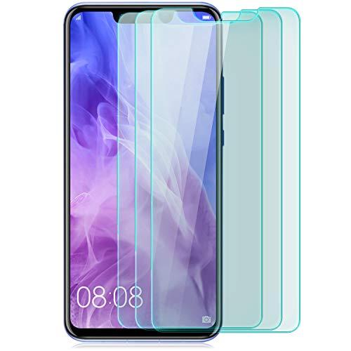 [3 Stück Displayschutz Folie kompatibel mit Huawei Huawei Nova 3 Displayschutzfolie Schutzglas Glasfolie Hartglas Schutzfolie | HD Klar Transparent