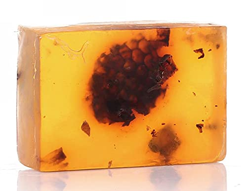 cosmolive Naturkosmetik - Bio Seife mit Wabenhonig 120 g - für alle Hauttypen geeignet - Duschseife - Duschgel - Körperseife - Nachhaltig - Handgemacht - ohne Palmöl - Tierversuchsfrei