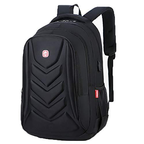 Waterdichte Oxford doek laptoptas kan dragen 15-inch laptop, grote capaciteit mannen outdoor rugzak externe USB-interface, 3 kleuren