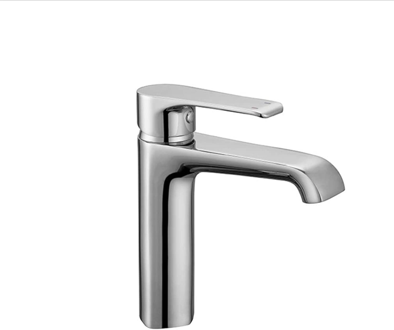 Basin Mixer Tap Bath Fixtures Wash Basinsinkkitchen Single Bath Bathbasin, Faucet, Hot and Cold Copper Bathbasin, Faucet, Chrome Basin, Faucet