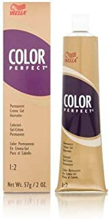 Wella Perfect Hair Color Permanent Creme Gel Tube, 8g Light Golden Blonde, 2 Ounce