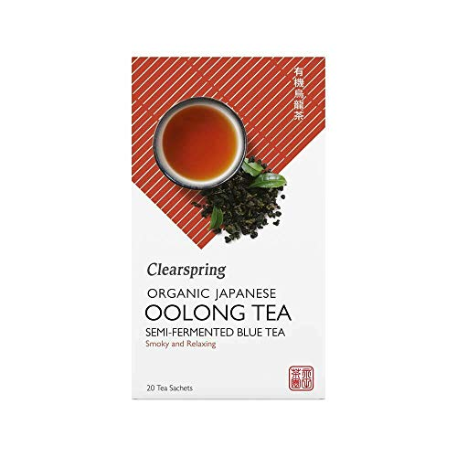 Clearspring Organic Japanese Oolong (Pack of 1, 20 Teabags)
