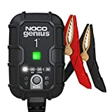 NOCO GENIUS1UK, 1-Amp Fully-Automatic Smart Charger, 6V and 12V Battery Charger, Battery Maintainer, and...
