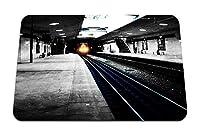 22cmx18cm マウスパッド (シティメトロ地下鉄道道路電車ライト) パターンカスタムの マウスパッド