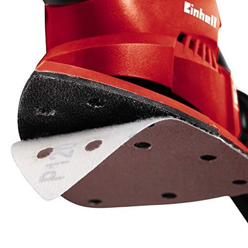 Einhell Ponceuse multi TH-OS 1016-(100 W, Surface de ponçage : 104 cm2, Livré avec une feuille abrasive et un sac à poussières)