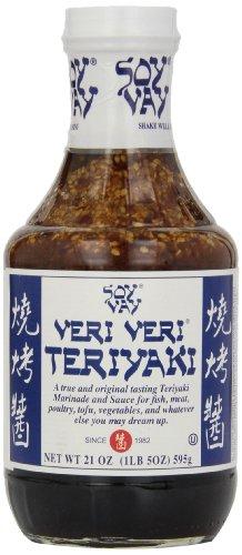 Soy Vay Veri Veri Teriyaki Marinade, 21-Ounce Bottles (Pack of 6)