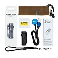 Olight S1R Baton II LED Flashlight Max 1000lm Compact Rechargeable EDC Torch Light Single IMR16340 Powered Torch for Camping Hiking 30