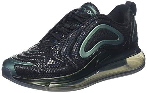Nike Air Max 720, Scarpe da Ginnastica Basse Uomo, Nero (Black Ao2924-003), 43 EU
