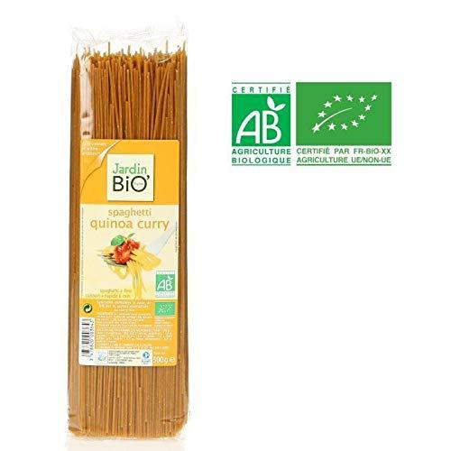Jardin Bio Spaghetti Con Quinoa Y Curry 500G 500 G 100 g