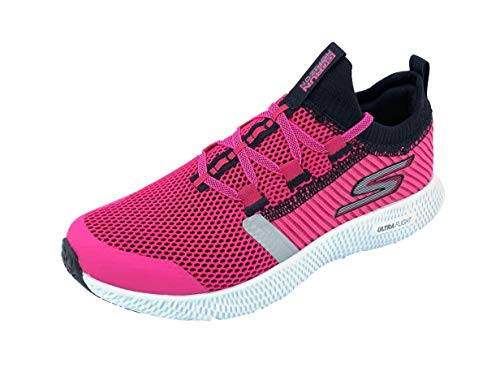 Skechers Women's Go Run Horizon Running Shoes (8.5 M US, Hot Pink/Black)