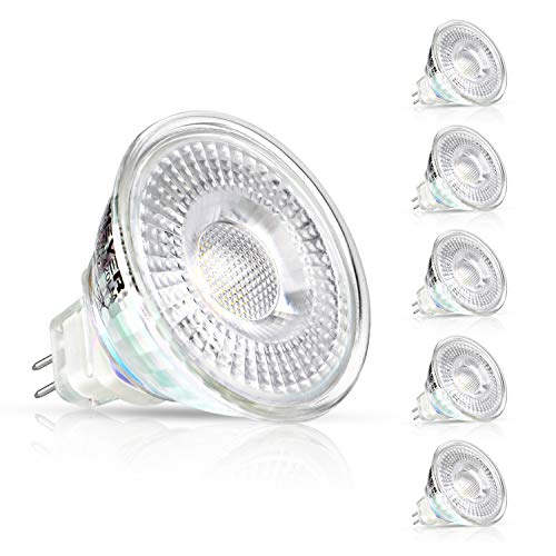 Creyer 5er Pack MR16 GU5.3 LED Lampen,...