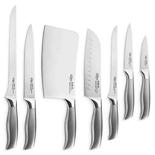 San Ignacio PK2520 Colección Jávea Set de Corte: juego de cuchillos de cocina: Hacha de cocina,...