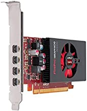ATI AMD FirePro W4100 2GB GDDR5 4Mini DisplayPorts Low Profile PCI-Express Video Card 100-505979