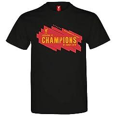 Liverpool FC Camiseta para Hombre / niño - Ganadores de la Champions League 6 Veces