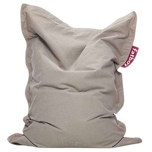 Fatboy® Junior Stonewashed Sand | Original Baumwolle-Sitzsack | Klassisches Indoor Sitzkissen speziell für Kinder | 130 x 100 cm