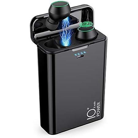 【6/30まで】Gixvdcu 13800mAh大容量バッテリー搭載AAC対応完全ワイヤレスBluetoothイヤホン&モバイルバッテリー 2,370円送料無料!