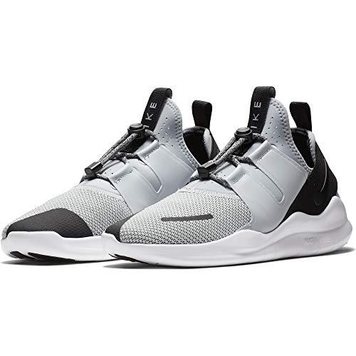 Nike Men's Free RN Commuter 2018 Premium Running Shoe, Wolf Grey/Black-White, 12