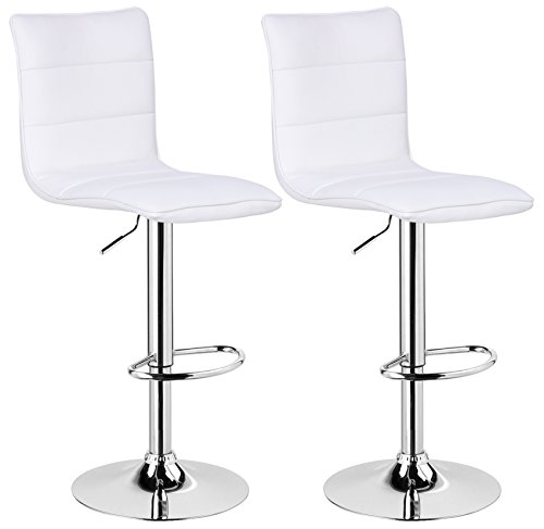 WOLTU BH15ws-2 Design Hocker mit Griff, 2er Set, s...