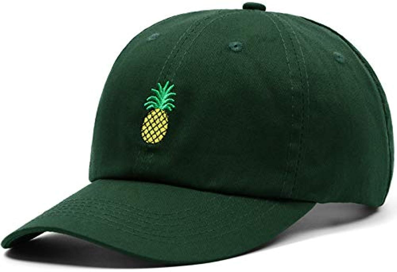 WLEZY Baseball Cap Women Men Pineapple Embroidery dad hat Unisex Snapback Hip hop Cap Summer Hats Streetwear Casquette