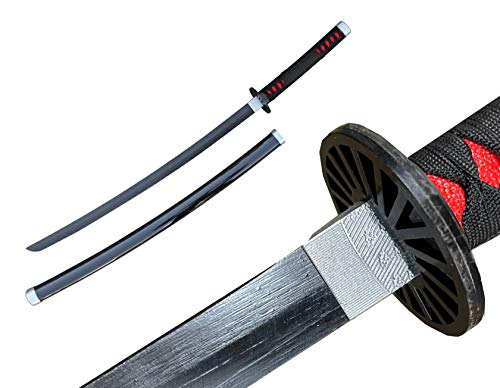 Blazing S. Fantasy Anime Replica Demon Hunting Black Nichirin Samurai...