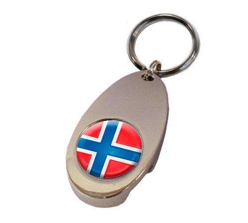 Asbri Noruega Crested Golf Tech Llavero