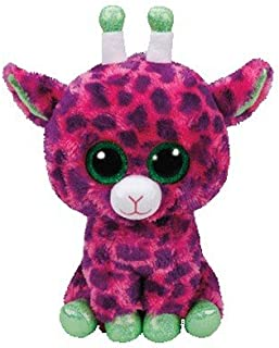 Ty Beanie Boos Gilbert - Giraffe Pink med